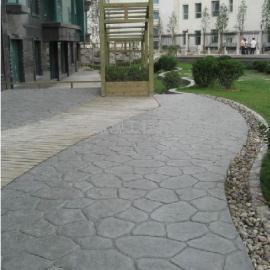 昌都混凝土艺术地坪 八宿道路铺装压模地坪 察雅景观仿石路面