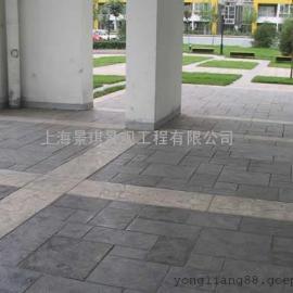 南通彩色艺术地坪|启东水泥仿木压花地坪|如皋仿石压印混凝土