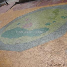 常州耐磨压花地坪价格|戚墅堰压模混凝土|新北仿青石板地坪