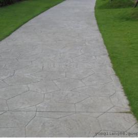 文山耐磨压花地面材料 丘北水泥压模地坪 马关仿古石压印地坪