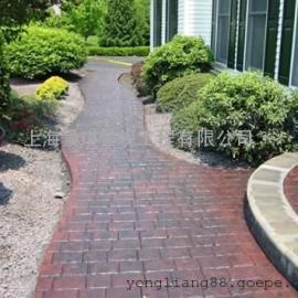 水泥压花地坪材料/压模地坪施工模具/彩色艺术地坪