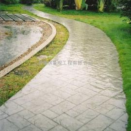 压模混凝土地坪材料/水泥压花地坪施工模具/压印地坪