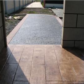压花混凝土路面材料/压模地坪施工模具/艺术彩色地坪