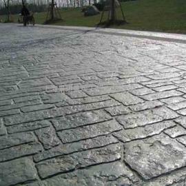水泥压模地坪/压花地坪施工模具/彩色混凝土路面