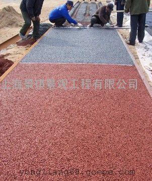 透水地坪材料|双组保护剂|光亮剂|混凝土密封剂|彩色透水