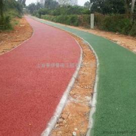 透水混凝土路面/渗水多孔混凝土铺装效果/城市绿道/环保路面