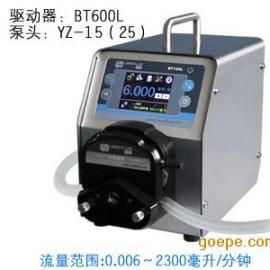 BT600L实验室常用型号智能蠕动泵