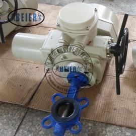 D971J一体化对夹式电动衬胶蝶阀