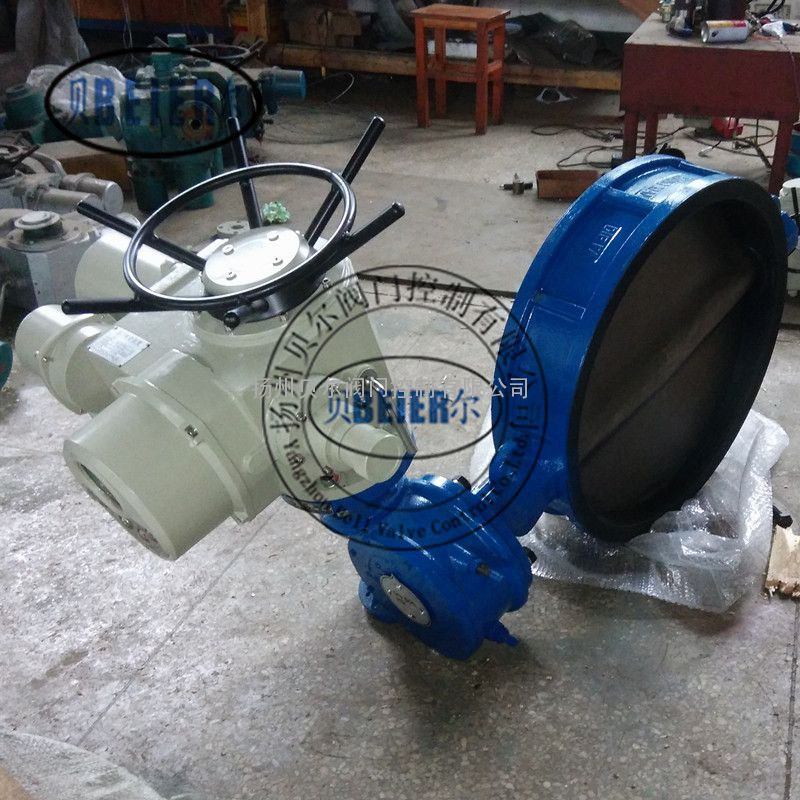 D971-10C DN400电动蝶阀