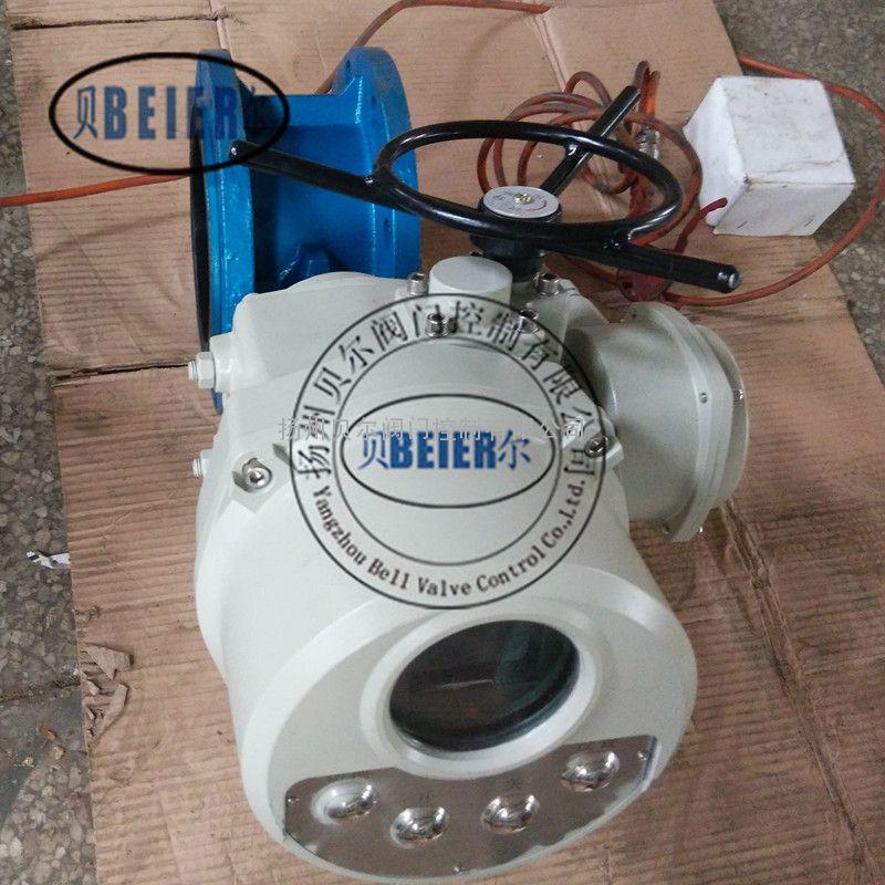 D941J智能整体型电动衬胶蝶阀