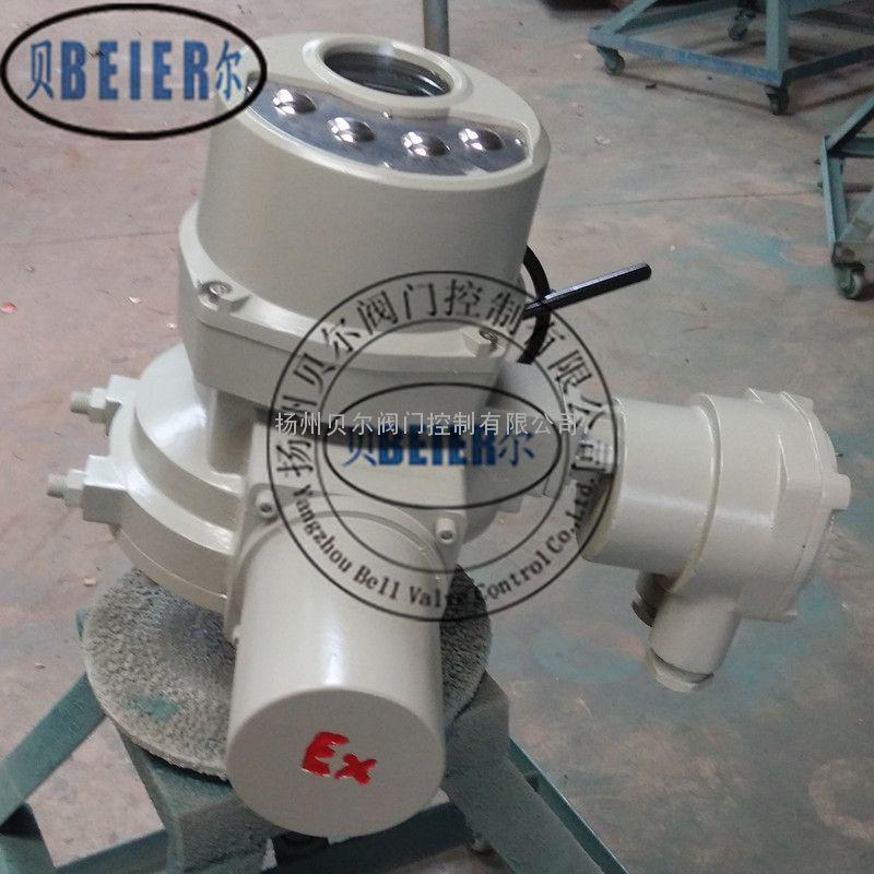 DQW120防爆一体化电动执行机构调试方法