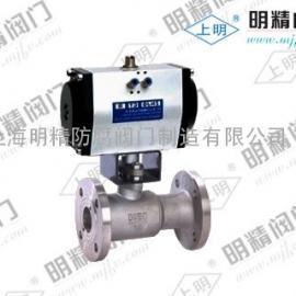 上明牌PQ641M-16气动排污阀