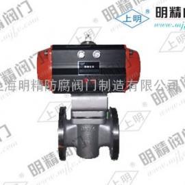 SMRX643F/W气动旋塞阀