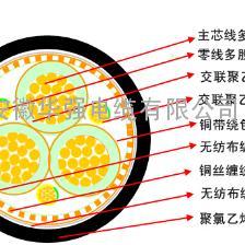 阻燃屏蔽电缆ZR YJV(P2)3*10+1*6
