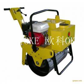 1吨单轮压路机 单轮振动压路机 手扶式单轮压路机
