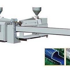 PVC塑筋螺旋增强软管生产线