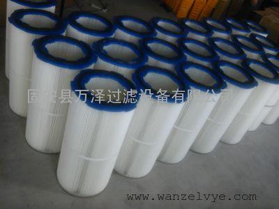 万泽供应工业集尘机粉尘滤筒,3290粉尘滤筒厂家批发