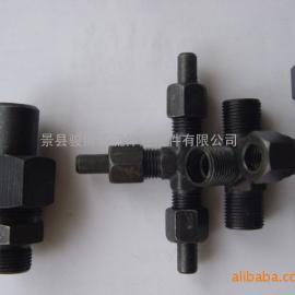 批发JBZQ420386锥密封焊接式端直通圆柱管螺纹管接头