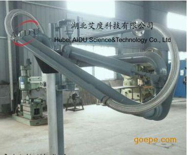 产品展示 流体装卸臂/鹤管 > al1412带油气回收顶部密闭式装车鹤管