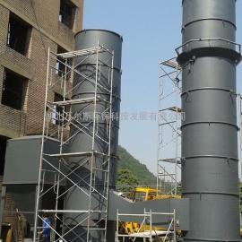锅炉除尘脱硫设备喷淋塔加水膜脱硫塔双塔脱硫除尘