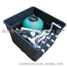 16-50T/H景观池循环水处理设备