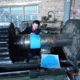 福世蓝技术快速修复球磨机小齿轮轴磨损/工业修补剂/胶黏剂