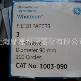 GE whatman 3��V�GRADE 3 1003 6μm 1003-090