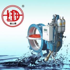 HD7X41X 型  蓄能器式液控缓闭止回蝶阀