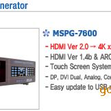 MSPG-7800S 高清信��l生器新品上市