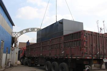韶关地埋式一体化污水处理设备处理水量