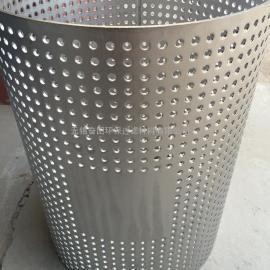 厂家供应不锈钢冲孔滤芯骨架