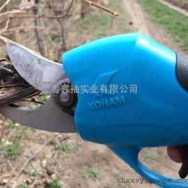 果树电动修枝剪批发、园林园艺修枝剪批发、树枝修剪机