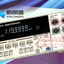 日本ADCMT 7461A 6位半台式万用表