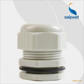 供应电缆接线头PG9塑料防水接头 防水开关接头 格兰头