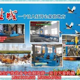 H型钢焊接生产线厂家东台天泰机械品质好服务快畅销海外