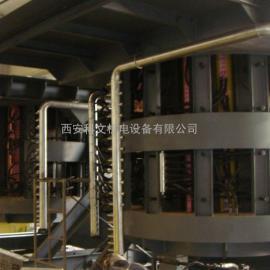 10吨中频炉、中频感应炉、10吨炼钢炉