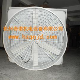供应1060型防腐耐酸碱方型百叶窗玻璃钢负压风机