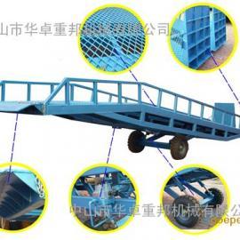 中山移动登车桥 叉车装卸货平台 4-12吨 液压式集装箱货梯