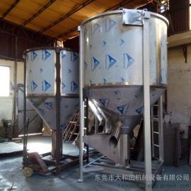 吉林不锈钢搅拌机,大型立式搅拌机,新旧料混合搅拌机,混料机