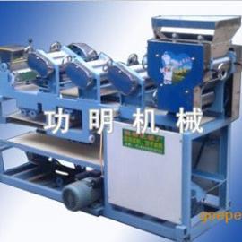 功明水饺皮机面条机,四川饺子皮机厂家