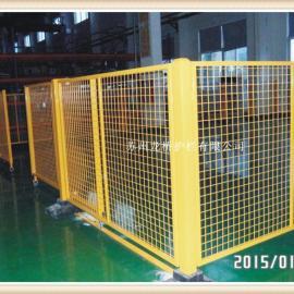 济南可移动车间隔离网/可移动仓库隔离网/无需膨胀螺栓固定