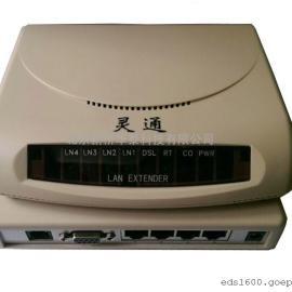 灵通EDSL网桥,电话线传输网络
