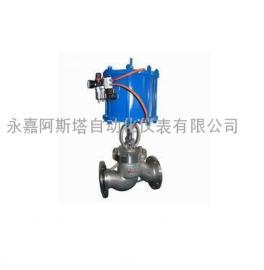 专业生产SMJ641H/W气动不锈钢截止阀-阿斯塔阀门