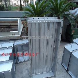 不锈钢、镀锌板风量调节阀(尺寸颜色可定制、可配电动机构)