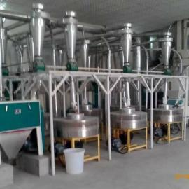 供应6FL系列皮芯分离大型电动石磨面粉机价格