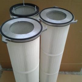 PTFE覆膜滤筒除尘滤芯粉尘过滤
