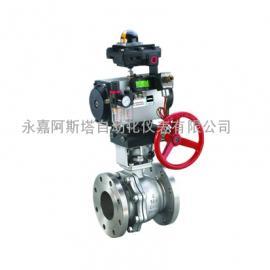 专业生产Q647Y气动固定球阀-阿斯塔阀门