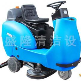 正规驾驶式洗地机 工业尘垢空中洁肤机 厂空中洗地机