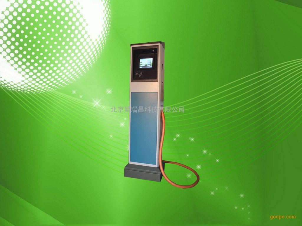 北京昊瑞昌科技有限公司为比亚迪E6电动汽车自主研发量身打造的500V40A25KW充电桩、400V25A10KW充电桩以充电效率高、时间快、工作稳定、采用全液晶触摸屏显示操作模式,界面友好、直观,操作简单方便。通过总线技术将充电桩与待充电设备(如电动汽车电池系统)智能结合,可实时检测与控制整个充电过程,有效防止了电池过充电,或充不满现象的发生。保证充电过程安全、可靠,延长电池系统使用寿命,从而降低维护成本,提高用户的经济效益。在新老客户中赢得了好评如潮。 电动汽车充电桩分为:直流充电桩和交流充电桩。防护等