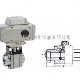 *生产电动高压螺纹球阀-阿斯塔阀门